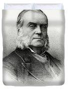Charles J. Folger Duvet Cover