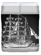 Charleston Ghost Ship Duvet Cover