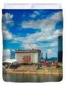 Charleston, West Virginia Duvet Cover
