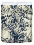 Charming Cup Duvet Cover