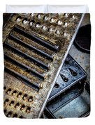 Cheese Grater 33 Duvet Cover