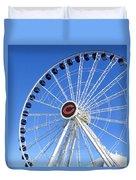 Chicago Centennial Ferris Wheel 2 Duvet Cover