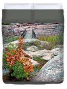 Chikanishing Trail Boardwalk Duvet Cover