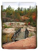 Chikanishing Trail Boardwalk II Duvet Cover