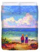 Children Of The Sea Duvet Cover