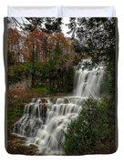 Chitennango Falls Duvet Cover