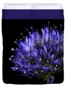 Chives Flower Duvet Cover