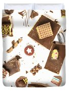 Chocolate Bar Break Duvet Cover