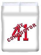 Chris The Conductor Sale Duvet Cover