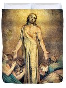 Christ Appearing To The Apostles After The Resurrection - Digital Remastered Edition Duvet Cover