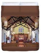 Christ Episcopal Interior Duvet Cover
