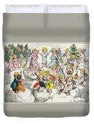 Christmas Fairy Tale Duvet Cover
