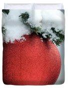 Christmas Tree, France Duvet Cover