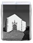 Church Of Misericordia In Monochrome Duvet Cover