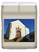 Church Of Misericordia. Portugal Duvet Cover