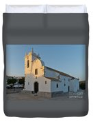 Church Of Querenca In Loule. Portugal Duvet Cover