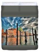 Church Of San Simeone Piccolo, Venice Duvet Cover