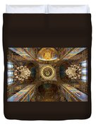 Church Of The Spilled Blood Duvet Cover