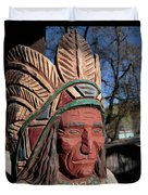 Cigar Store Indian  Duvet Cover
