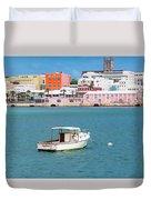 City Of Hamilton Bermuda Duvet Cover