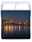 City Reflections  Duvet Cover