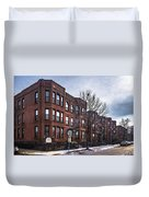 Cityview Cooperative, Minneapolis Duvet Cover