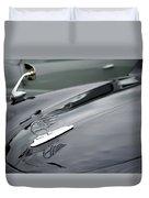 Classic Austin Car Bonnet Badge Duvet Cover