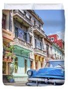 Classic Car Havana 8x10 Duvet Cover