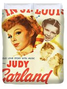 Classic Movie Poster - Meet Me In St. Louis Duvet Cover