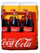 Classic Six Pack Of Cokes Duvet Cover