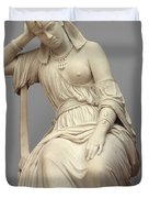 Cleopatra,  Marble Duvet Cover
