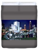 Cleveland Ohio 2019 Duvet Cover