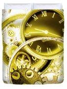 Clock Watches Duvet Cover