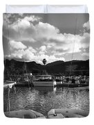 Clouds And Sailing  Duvet Cover