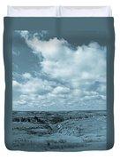 Cloudy Prairie Reverie Duvet Cover