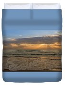 Cloudy Sunrise In The Mediterranean Duvet Cover