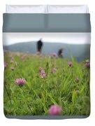 Clover Field Duvet Cover
