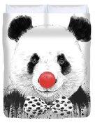 Clown Panda Duvet Cover