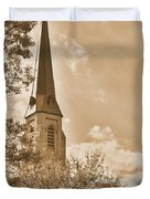 Clustered Spires Series - All Saints Episcopal Church No. 8cs - Frederick Maryland Duvet Cover