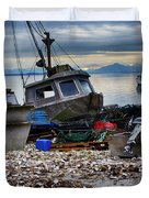 Coastal Fishing Vancouver Island Duvet Cover