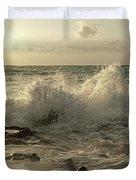 Coastal Saturday Morning Duvet Cover