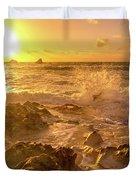Coastal Sunrise Spectacular  Duvet Cover