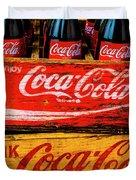 Coca Cola Crates Duvet Cover