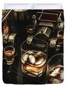 Cognac Cars Duvet Cover