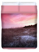 Color Over The Dunes Duvet Cover