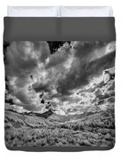Colorado Sun Rays II Duvet Cover