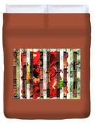 Colored Windows Duvet Cover