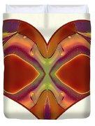 Colorful Heart - Naked Truth - Omaste Witkowski Duvet Cover by Omaste Witkowski
