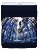 Colorful Trees Iv Duvet Cover