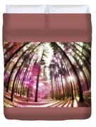 Colorful Trees V Duvet Cover